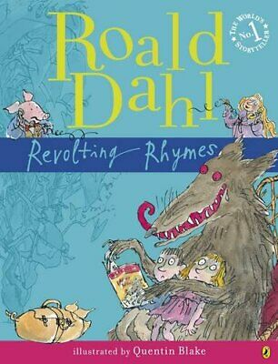Revolting Rhymes by Dahl, Roald Paperback Book The Cheap Fast Free Post