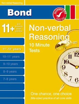 Bond 10 Minute Tests Non-verbal Reasoning 11-12+ y..., Primrose, Alison Pamphlet