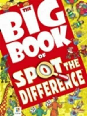 Big Book of Spot the Difference (Big Book of Series) Paperback Book The Cheap