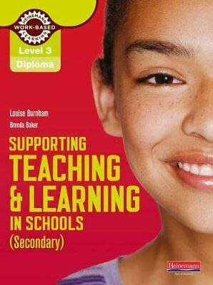 Level 3 Diploma Supporting teaching and learning i... by Baker, Brenda Paperback