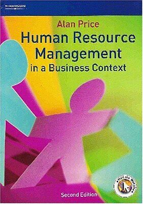 Human Resource Management in a Business Context by Alan Price Paperback Book The