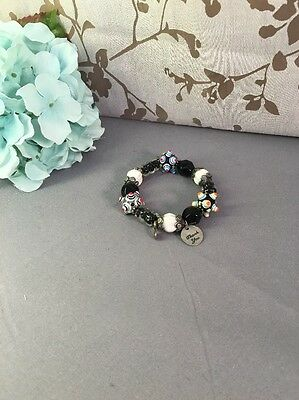 Vintage To Now Glass Beaded  Bracelet~Estate Jewelry Lot