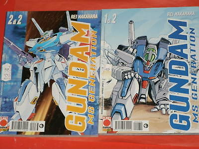 Gundam Ms Generation N° 1/2 Panini/planet Manga