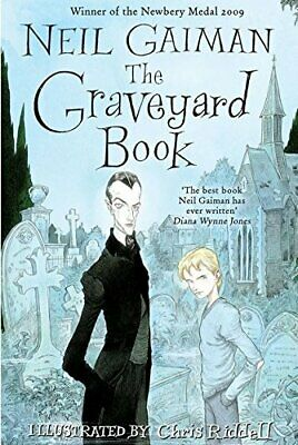 The Graveyard Book by Gaiman, Neil Hardback Book The Cheap Fast Free Post