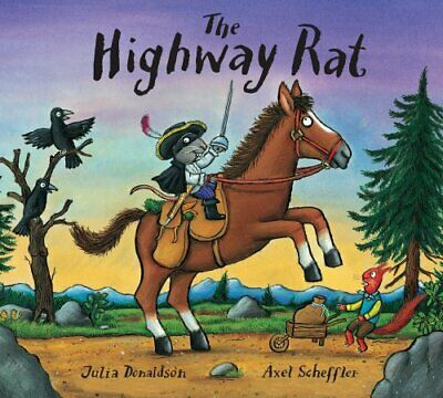 The Highway Rat by Donaldson, Julia Book The Cheap Fast Free Post