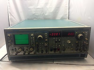 Tektronix TM506A 6-Slot Module Mainframe With Modules With DM501A, DM504A x4