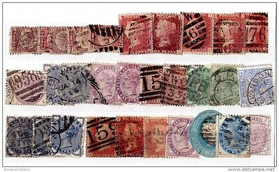 GB QV Collection of 30 Values Used Mixed Condition X2967