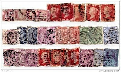 GB QV Collection of 30 Values Used Mixed Condition X2969