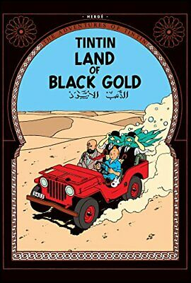 Land of Black Gold (The Adventures of Tintin) by Herg� Paperback Book The Cheap