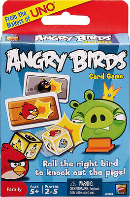 Angry Birds: Card Game Mattel NEW 2-5 players ages 5+