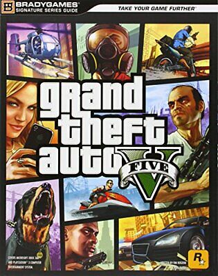 Grand Theft Auto V Signature Series Guide, Bradygames Book The Cheap Fast Free
