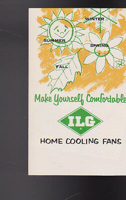 ILG Home Cooling Fans Brochure Make Yourself Comfortable 1954