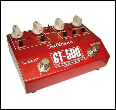 Fulltone GT-500 Booster Distortion Guitar Effects Pedal