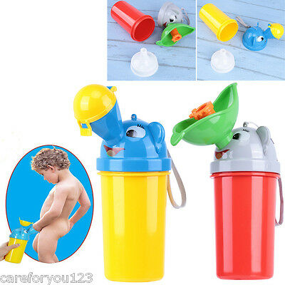 Portable Urinal Potty Kids Childrens Car Travel Camping Train Outdoors Toilet
