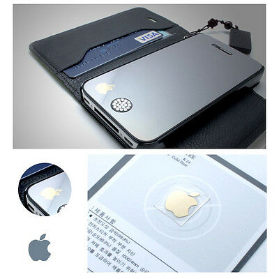 NEW Anti Radiation Sticker Gold Plating Cute logo For Mobile Phone MP3 Tablet