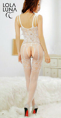 Sexy Lola Luna bodystocking  Julie  in Weiß