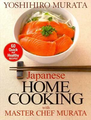 Japanese Home Cooking With Master Chef Murata - New Paperback Book