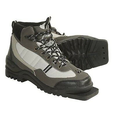 New Whitewoods 301 XC Size 43 cross country 75mm 3 Pin ski boots (9M 10W 42EUR)