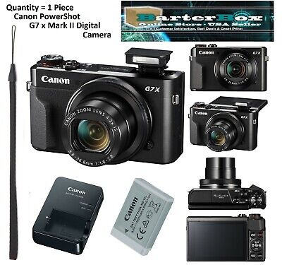 Black Friday Deals Sale Canon Powershot G7 X Mark II / G7x M2 Digital Camera