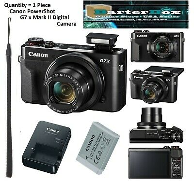 Winter Sale BRAND NEW Canon PowerShot G7 X Mark II Digital Camera