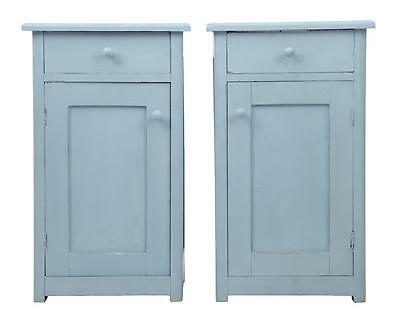 Pair Of Late 19Th Century Swedish Painted Cabinets