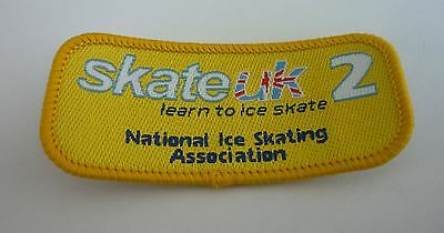 Skate UK - Learn to Ice Skate Level 2 - National Ice Skating Association Patch