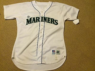 Autographed Circa 1996 Alex Rodriguez Seattle Mariners Game Issued Jersey Rare