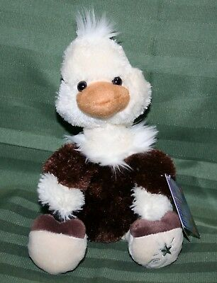 Russ Berrie Shining Stars Plush OSTRICH Soft Bird!! NEW with all tags!!!