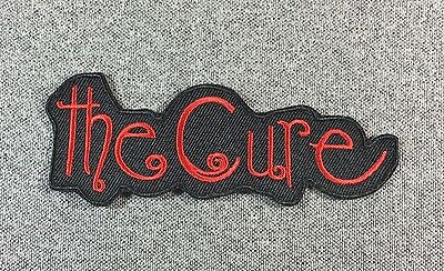 The Cure Patch 4.5in iron on patch Music Rock Band