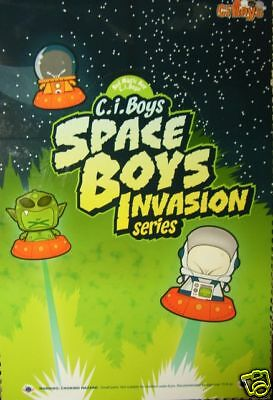 SKANSEN Ci-BOYS SPACE INVASION  COMPLETE SET OF 12  BRAND NEW BOXED