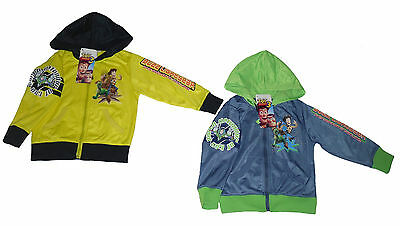 Boys Jacket Zip Up Hoody Jumper Disney Toy Story 2 3 4 5 6 7 And 8 Years