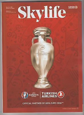 Inflight magazine TURKISH AIRLINES Skylife Issue 395 June 2016