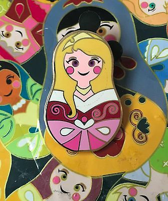 AURORA Sleeping Beauty Disney Mystery Pin Nesting Doll from Collectible Pin Pack