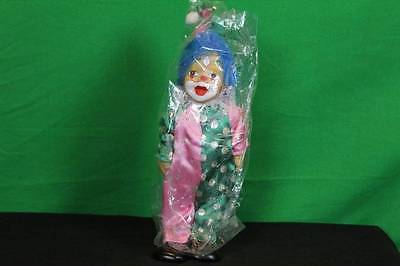 Vintage K's Collections Circus Clown Figurine Decorative Collectible