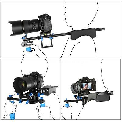 Shoulder Support Rig Mount Stabilizer Support Pad for Canon 60D Nikon Sony Q1G7