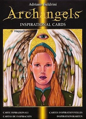 """""""archangels Oracle Cards"""" By Adriano Buldrini (Oracle)"""