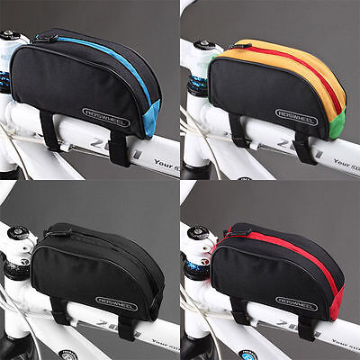 ROSWHEEL Bicycle Bike Cycling Frame Pannier Front Top Tube Phone Bag Pouch Case