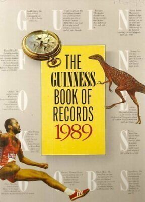 Guinness Book of Records 1989 Hardback Book The Cheap Fast Free Post