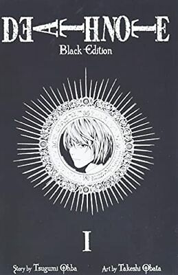 DEATH NOTE BLACK ED TP VOL 01 (C: 1-0-1) by Obata, Takeshi Paperback Book The