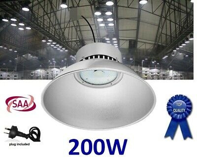 200W LED High Bay Lighting(SAA), Warehouse, Factories, Farm, Commercial