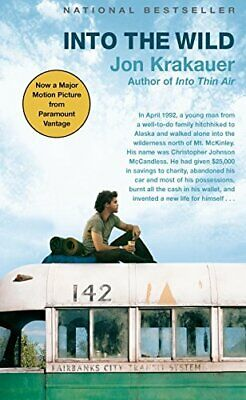 Into the Wild by Krakauer, Jon Paperback Book The Cheap Fast Free Post