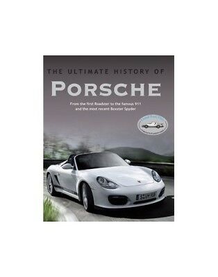 Cars Ultimate History: Porsche by Parragon Books Hardback Book The Cheap Fast