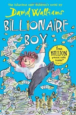 Billionaire Boy by Walliams, David Hardback Book The Cheap Fast Free Post
