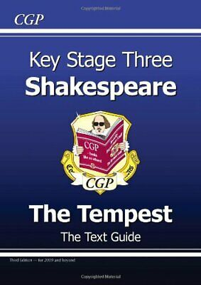 KS3 English Shakespeare Text Guide - The Tempest by CGP Books Paperback Book The