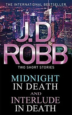 Midnight in Death/Interlude in Death by Robb, J. D. Book The Cheap Fast Free