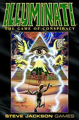 Illuminati Deluxe Edition Book By Steve Jackson English Toy Board Games New New