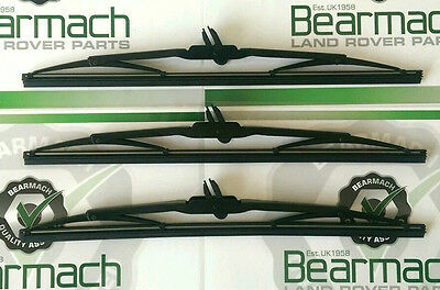 Land Rover Defender 90, 110, Wiper Blade Set x3, Front & Rear, BR2378, LR079891