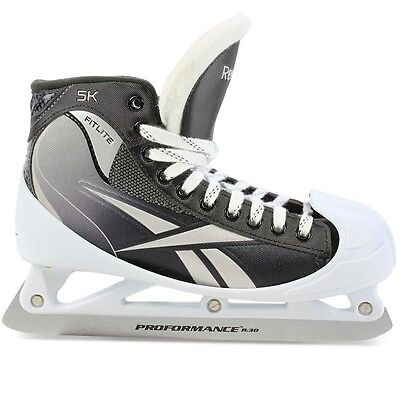 Reebok 5K Goal ice hockey goalie skates senior size 10D Sr. Sz. Brand New In Box