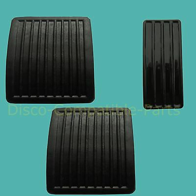 Land Rover Defender Pedal Rubber Pad Set SKE500060 + 11H1781L By Allmakes