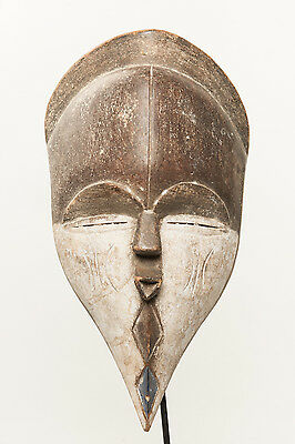 Kwele Mask, Gabon, African Tribal Arts, Equitorial Africa